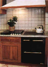 preview cucine a legna. una grande cucina di dimensioni ...
